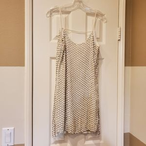 Parker beaded & sequined short, silk dress. Size M